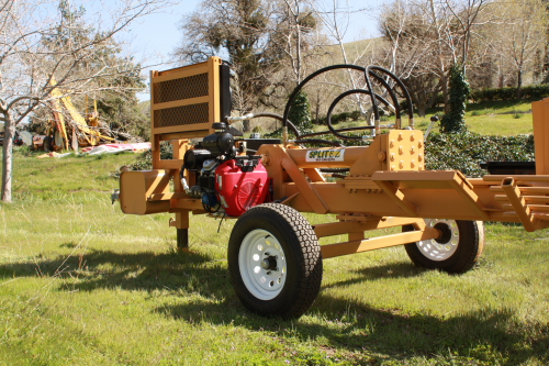Big boy hydraulic log splitter www.splitez.com