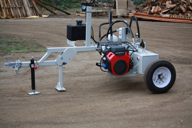 Portable gas hydraulic pack  trailer mounted & diesel power unit