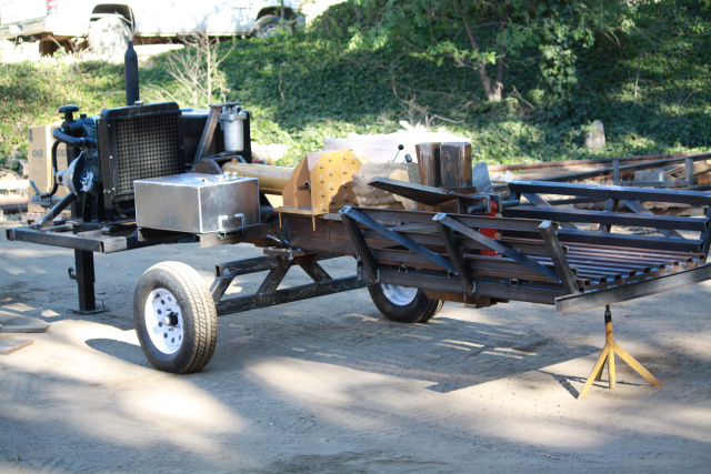 Log Splitter Horizontal
