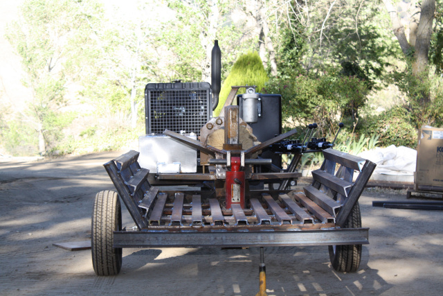 4 Way Wedge Log Splitter Car Interior Design