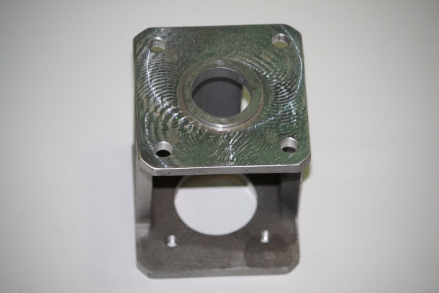 Engine pump bracket