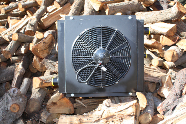 Hydraulic Oil Cooler With Fan : Akg hydraulic oil coolers with fan volt