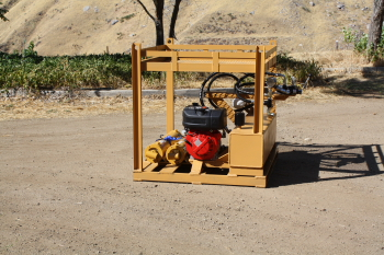 Splitez Diesel Hydraulic Portable power pack units skid mounter Made in the U.S.A