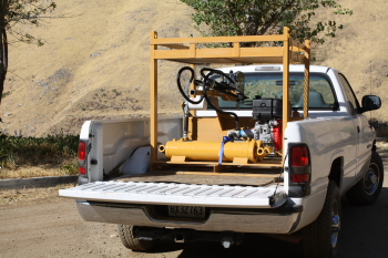 Hydraulic power unit portable power packs 3000 psi single stage pumps or two stages gas and diesel units