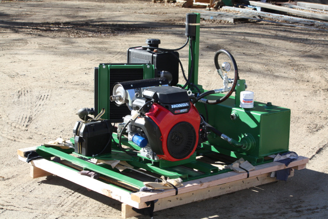 Hydraulic Power unit Gas Engine Honda portable power pack
