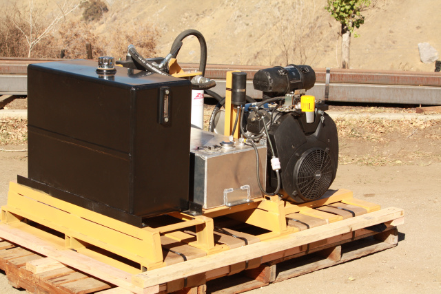 Portable hydraulic power pack splitez